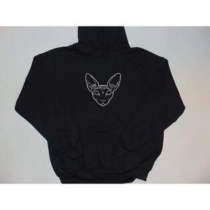 Forever21 sphynx cat Hoodie